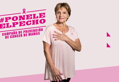 Junto a la embajadora Consuelo Peppino, Roentgen dona 40 mamografías digitales directas y 10 tomosín