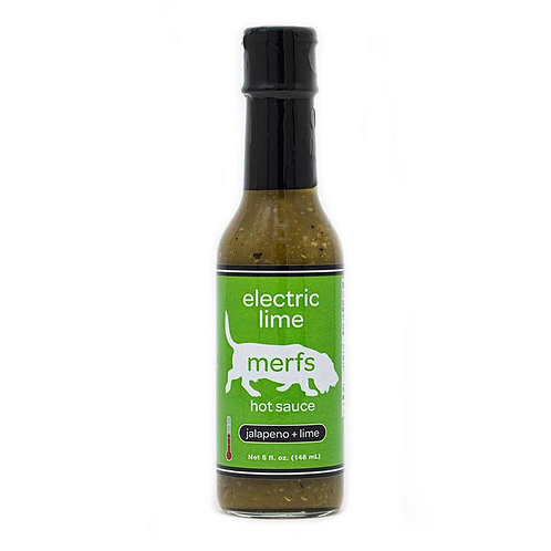 Merfs: Electric Lime Hot Sauce