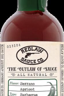 Serrano Apricot BBQ Sauce