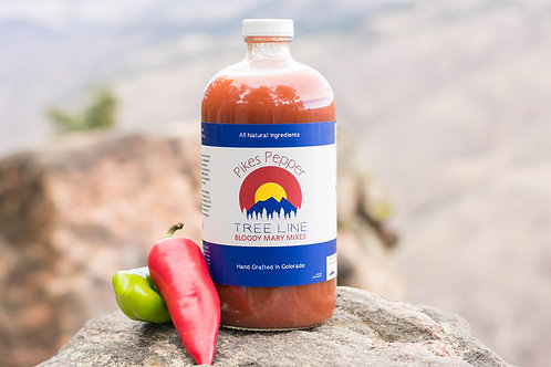 Treeline Bloody Mary Mix: Pikes Pepper