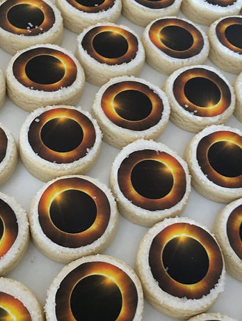 Eclipse 2017 Cookies