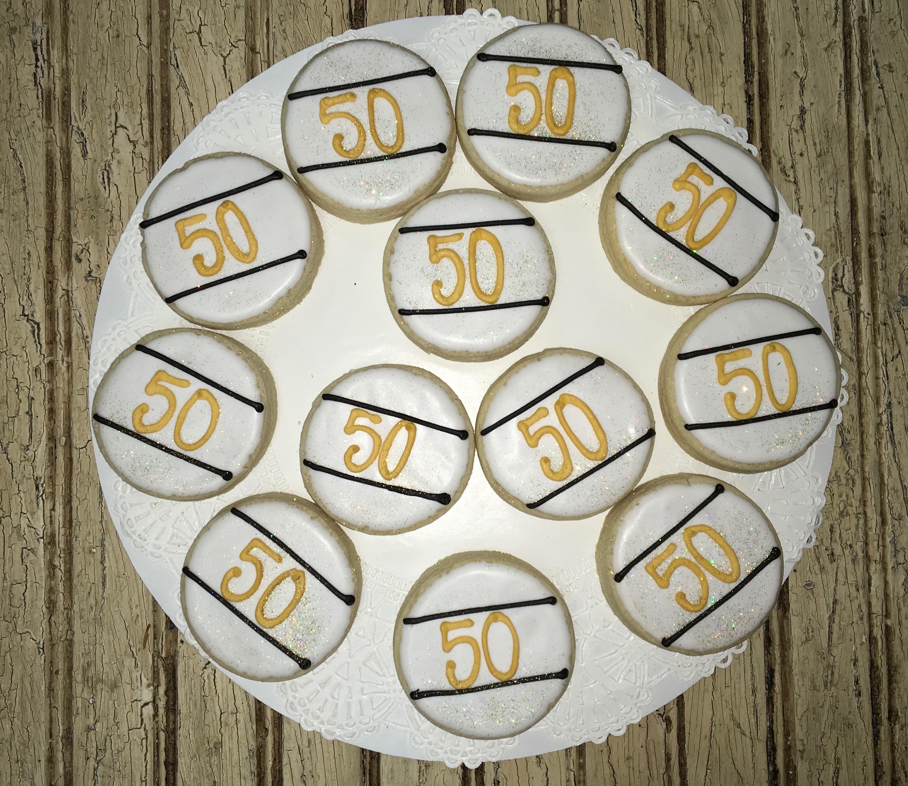 Anniversary 50th Round