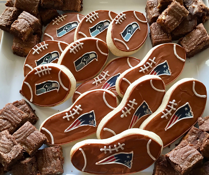 Superbowl 49 Cookies