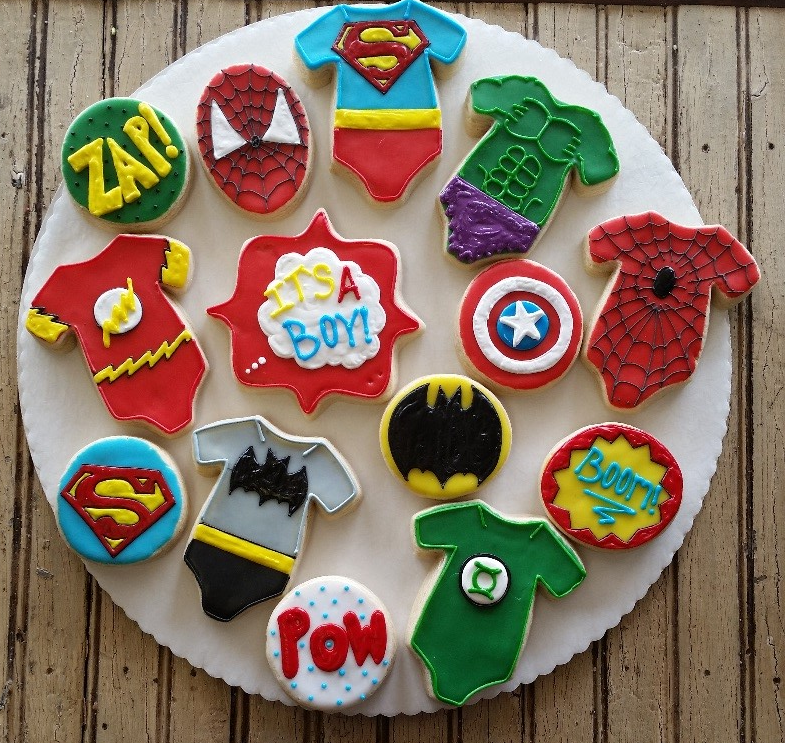 Baby Super Heroes Tray