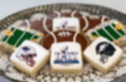 Super Bowl 52 Cookies