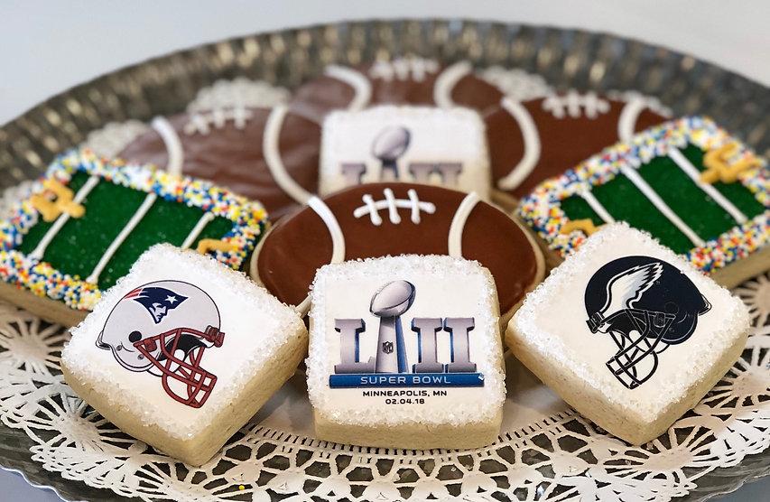 Super Bowl 52 Cookies