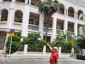 בתים יפים בתל אביב