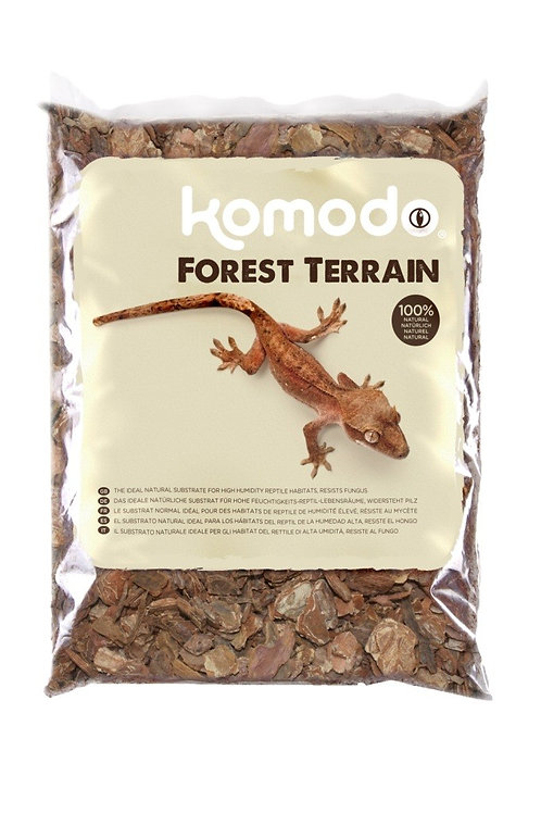 Komodo Orchid Bark  Forest Terrain Fine 6L