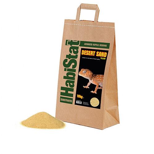 Habistat Desert Sand, Yellow, 10kg