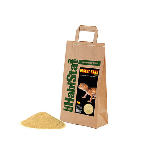 Habistat Desert Sand, Yellow, 5kg