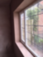 Plastering by jigsaw solutions clean edges with window