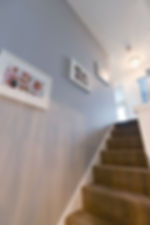 modern hallway finished decoration by jigsaw solutions