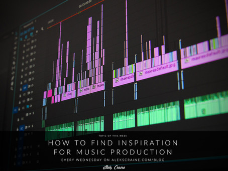 How to find inspiration for music production