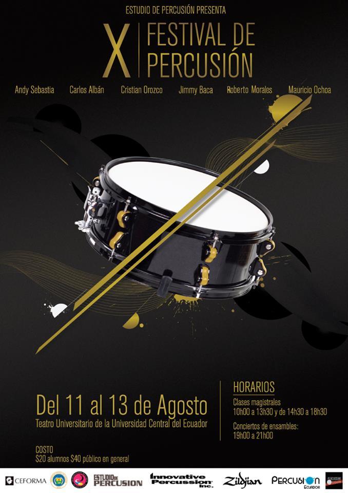 X Festival percusión