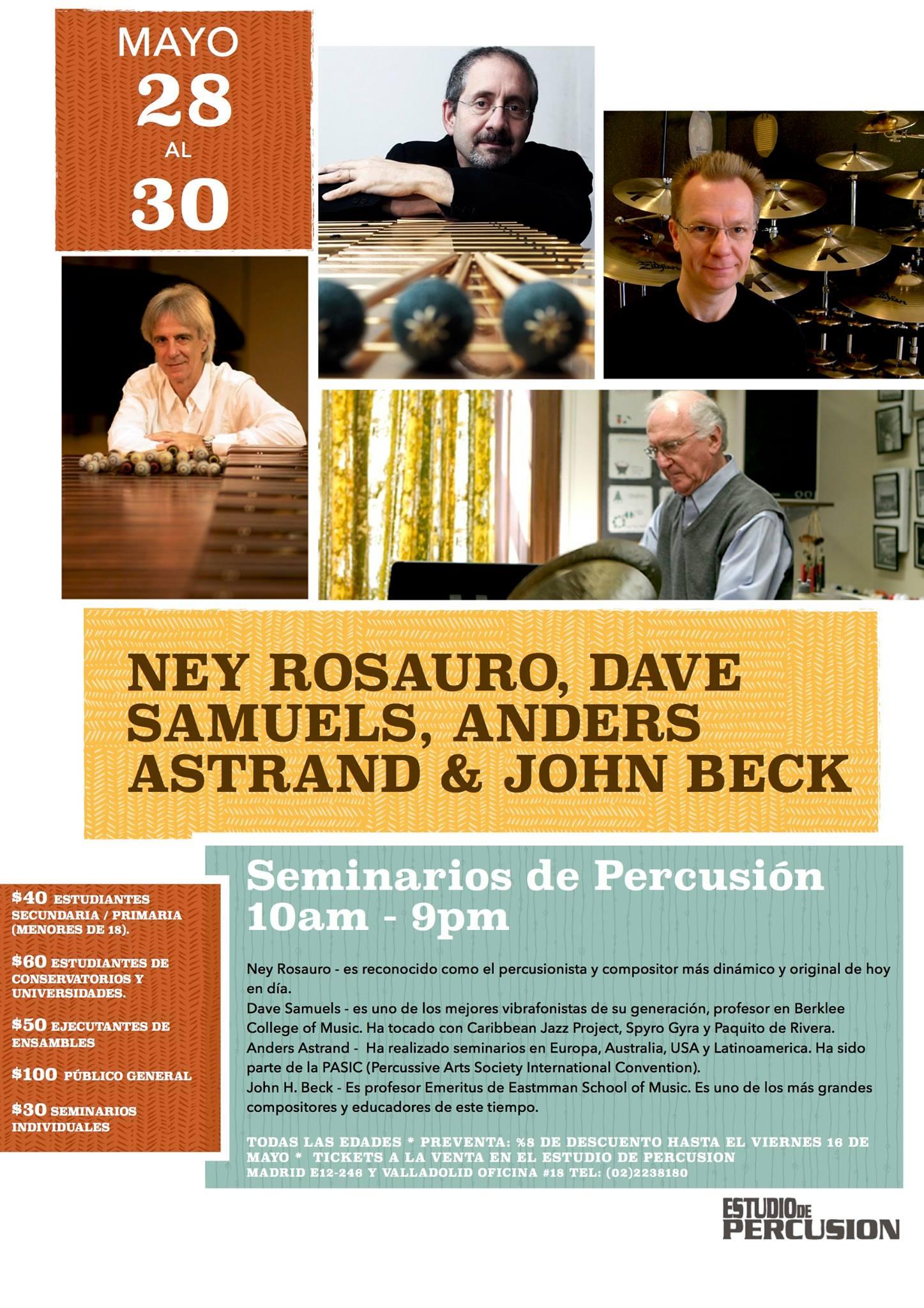 IX Festival de percusión