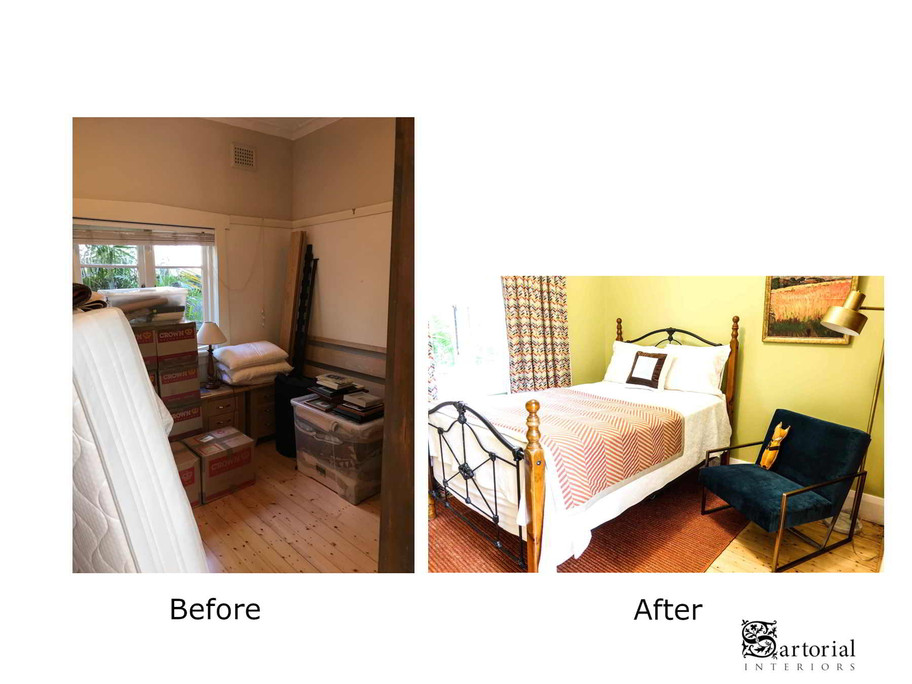 fox room before and after