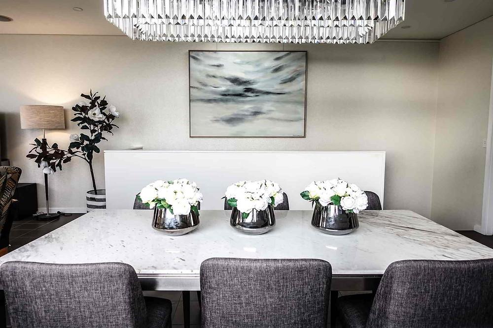 Randwick penthouse dining room