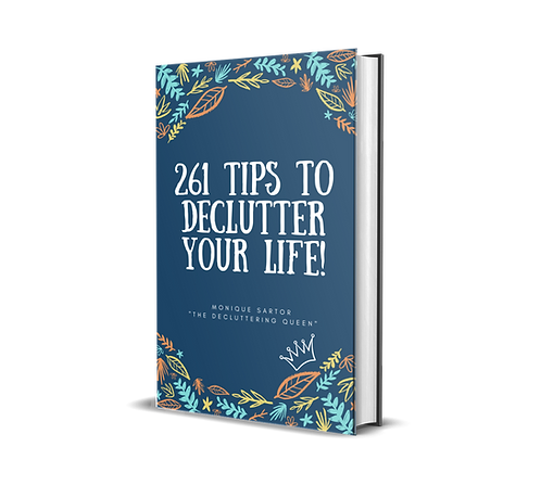 261 decluttering tips(to change your life!) eBook