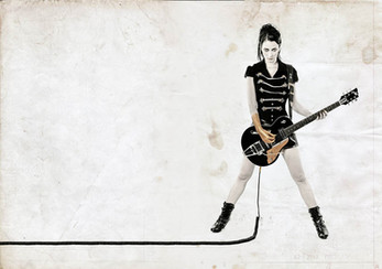 modèle : Elyther guitare : Duesenberg Starplayer TV