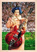 modèle : Falu Korv guitare : Guild Starfire V 1967