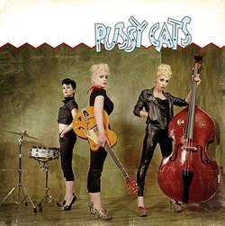 modèles : Freyia, Miss Liz Chérie & Lora von Gore guitare : Gretsch G6120 SSLVO Brian Setzer remake de la pochette du premier album des Stray Cats