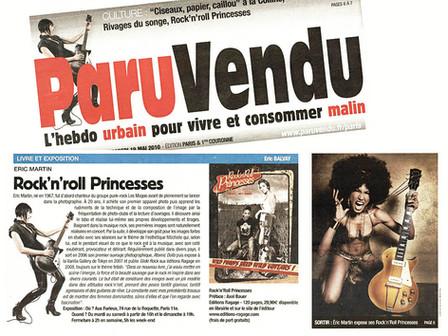 article Paru Vendu mai 2010