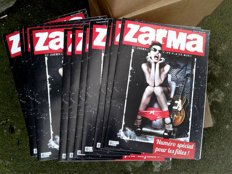 couverture de Zarma, 2018