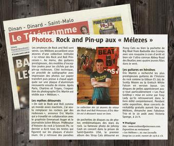article Le Télégramme, aout 2017