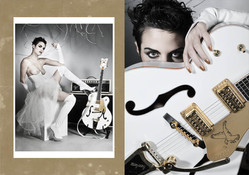 modèle : Ame guitare : Gretsch G6136T White Falcon ampli : Fender Supersonic Blonde