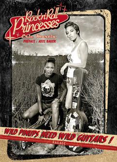 """modèles : Nancy & Ame couverture du livre """"Rock'n'Roll Princesses"""" (volume 1)"""