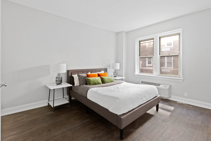 the Abington unit 214 bedroom