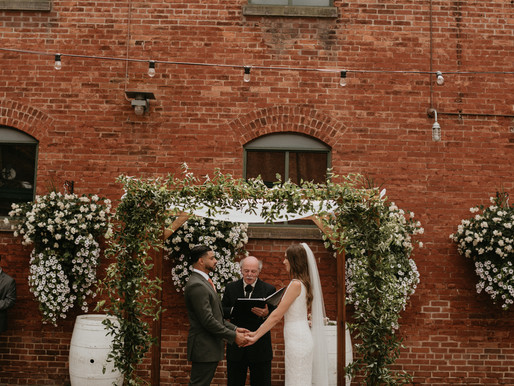 Charlotte & Mike's Intimate Wedding