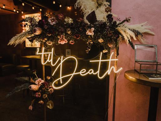 Destiny & Dustin's Rock N Roll Intimate Wedding