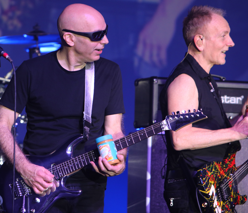 Joe Satriani and peanut butter slide