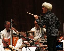 Copeland conducting