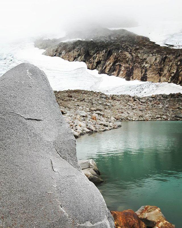 Helags glaciär. Jämtland