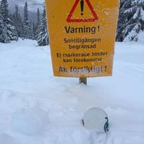 Snö, snö och mera snö i Bydalen!
