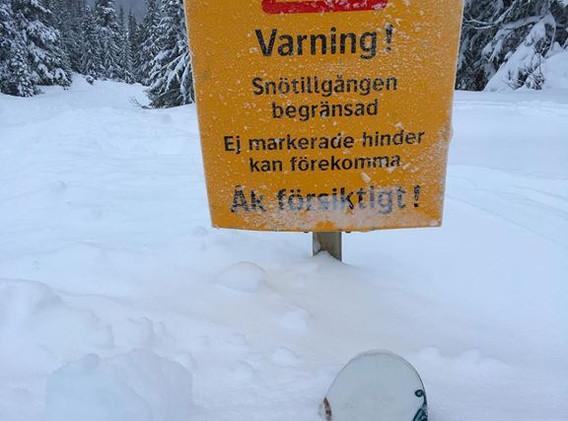 Vilken snö-vinter! Bydalsfjällen.
