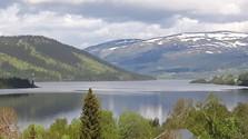 Magisk maj-morgon vid Åresjön.
