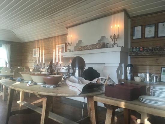 En oas att längta till! Saltoluoktas 100-åriga restaurang.