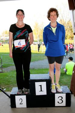 Gagnantes 2,5 km féminin