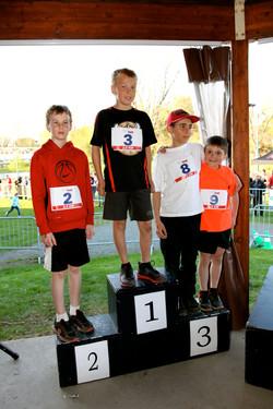 Gagnants 2,5 km Masculin