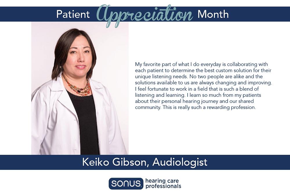 Sonus Patient Appreciation Month