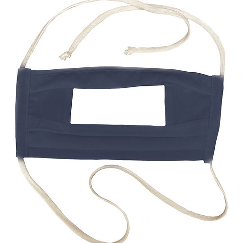 Reusable Mask with Clear Filter