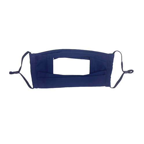 Reusable Clear Window Mask (Adjustable Ear Loop)