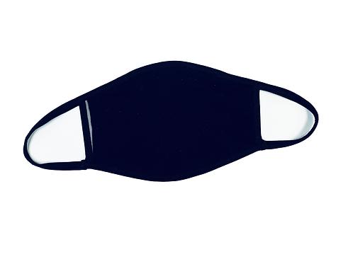 Reusable 2 Layer Knit Cotton Mask w/ Filter Pocket