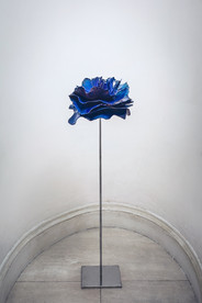 blu flower, 2014 - 100cm x 40cm (size va