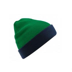 beanie verde azul
