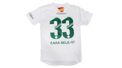 Camiseta Heliopolis FS trasera blanca