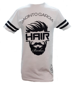 Camiseta Jacinto Peluquero Blanca